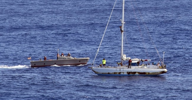 The Latest: Mother of Hawaii woman found at sea 'delighted'