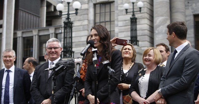 Jacinda Ardern is sworn in as New Zealand prime minister