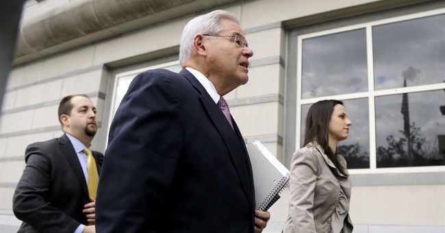 Menendez gets support of colleagues as mistrial motion looms