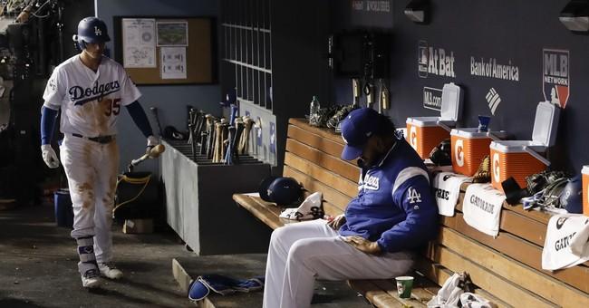 Dodgers' foundation tested after bullpen blasted in Game 2