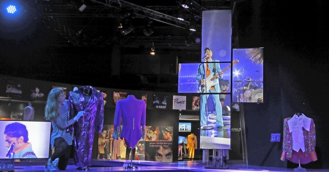 Prince exhibition in London dubbed 'miniature Paisley Park'
