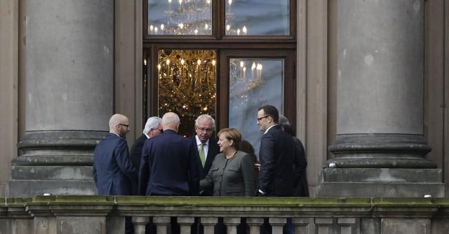 German coalition negotiators vow pro-European approach