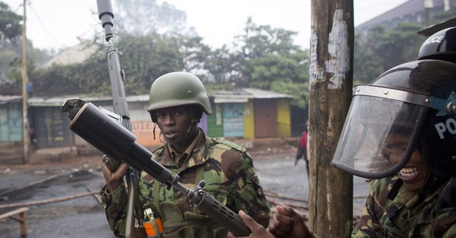 The Latest: Kenya police say 3 dead in protests over vote