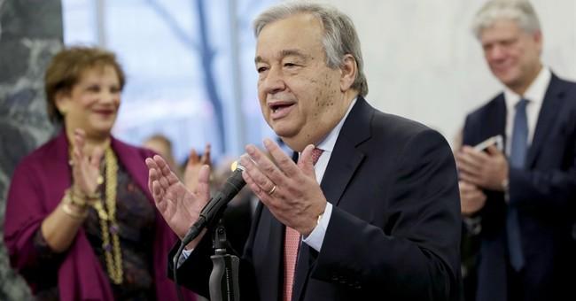 New UN chief has big goals but says he's 'no miracle maker'