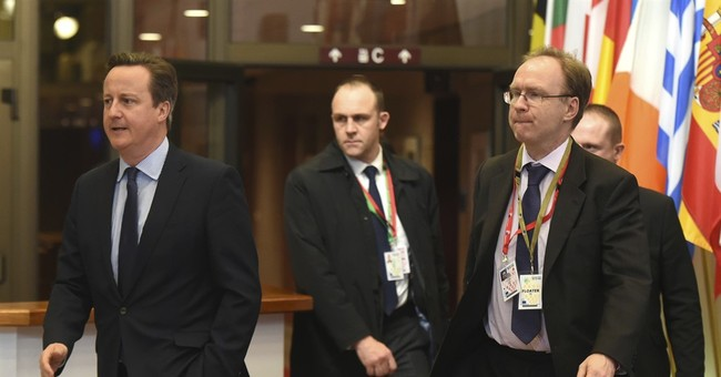 British EU envoy departs ahead of Brexit negotiations