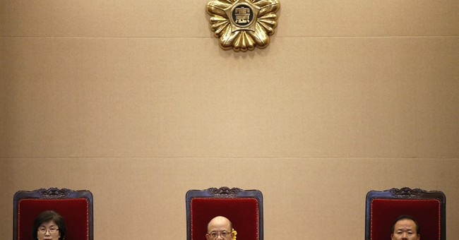 SKorean president refuses to testify in impeachment trial
