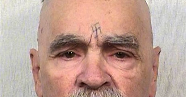 Official: Manson alive amid reports he was hospitalized.