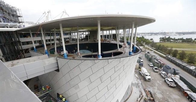 After financial setback, $305M Miami science museum rises