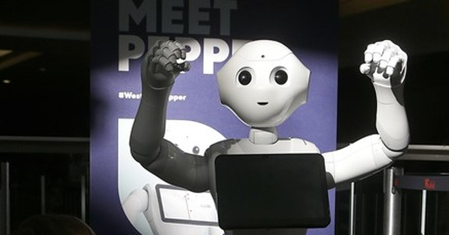 Here come 'smart stores' with robots, interactive shelves