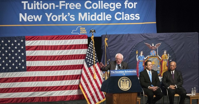 Governor calls for free tuition at New York public colleges