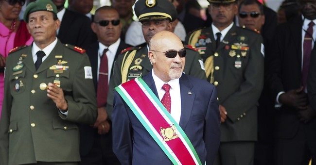 Stalled murder trial back on for president of Suriname