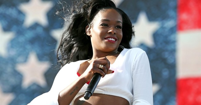 Azealia Banks picks fight with Rihanna over Trump order
