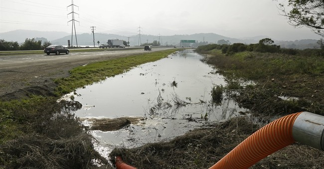 Storms preview ocean-rise damage to California cities, roads