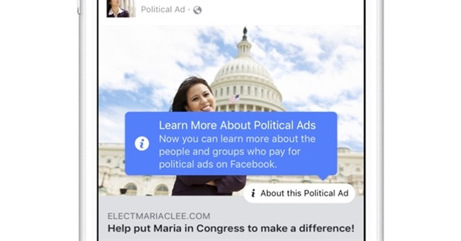 Facebook vows more transparency over political ads