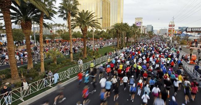 Las Vegas marathon moves start line away from shooting scene