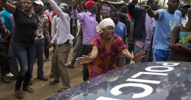 The Latest: 1 shot dead in Nairobi slum amid gang rioting