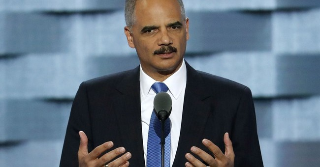 Ex-AG Holder honored for advancing gay, transgender rights