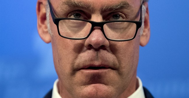 The Latest: Zinke denies any connection to contract