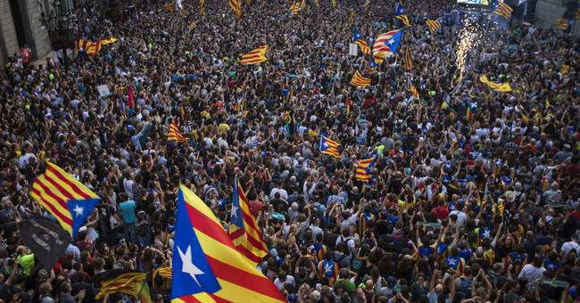 Some separatist-minded Catalans urge civil disobedience