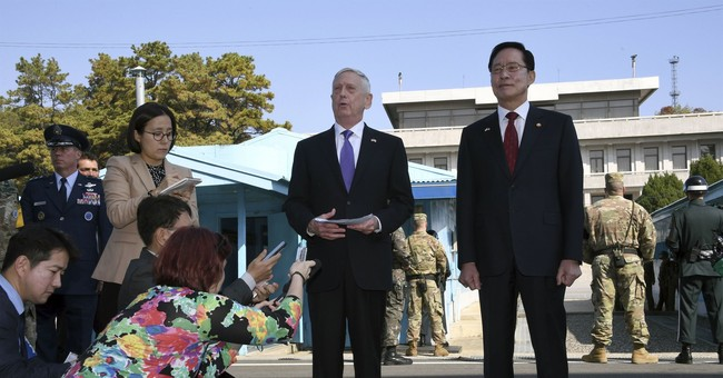 Pentagon chief accuses NKorea of threatening 'catastrophe'