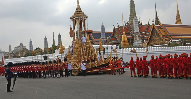 Elaborate 5-day funeral ends for Thailand's revered king
