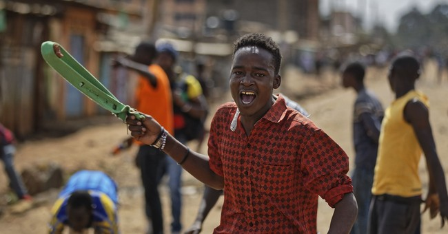 Kenya's vote dispute simmers, though opposition areas calmer