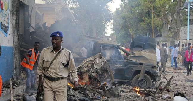 The Latest: Somalia leader says attack meant to shake unity