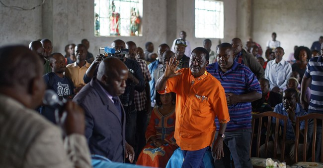 AP Interview: Kenyan opposition leader Odinga wants new vote