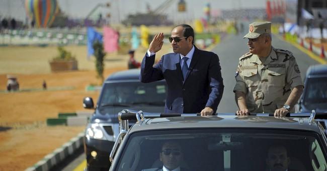 Roadside bomb, gunfire kills 2 policemen in Egypt's Sinai