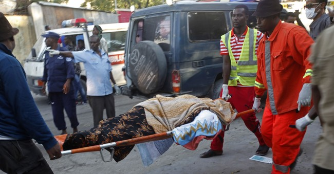 The Latest: Somalia fires police and intelligence chiefs