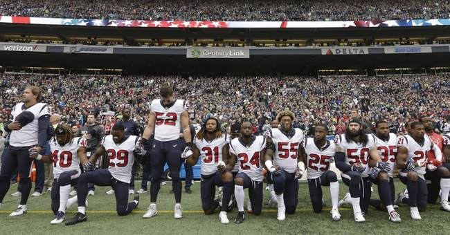Most Texans kneel during anthem after owner's comments
