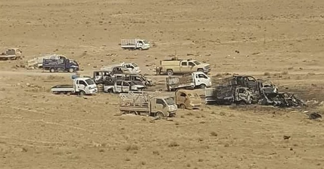 Their caliphate in ruins, IS militants melt into the desert