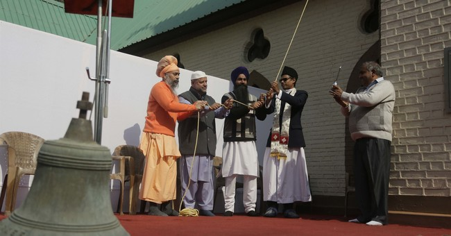 Church bell rings in Kashmir church after 5 decades