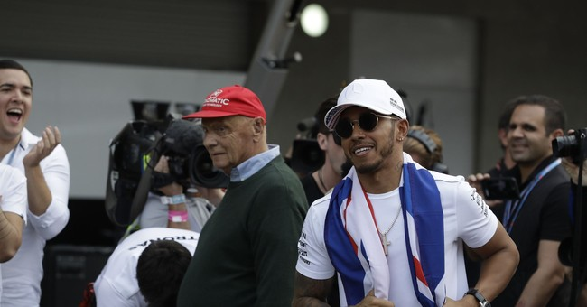 Hamilton's 4th title ranks him among F1's great drivers
