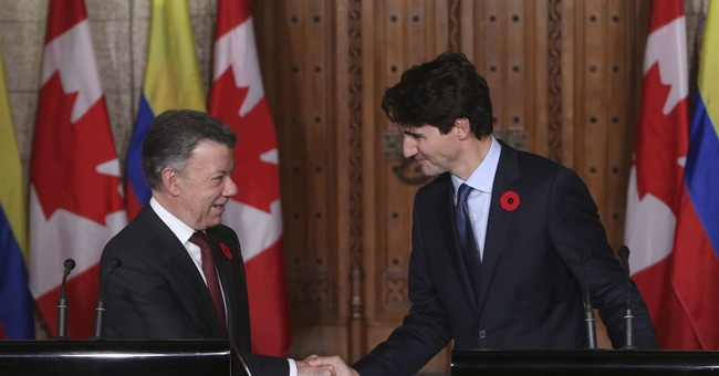 Colombia leader thanks Canadians for supporting peace effort