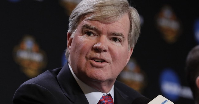 NCAA president urges change to basketball to restore trust