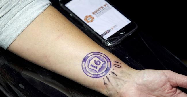 Las Vegas shooting survivors memorialize event with tattoos