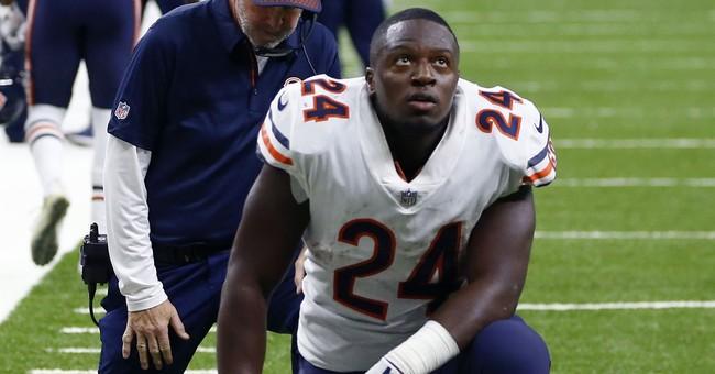 "Bears say TE Miller had ""urgent"" surgery on left leg"