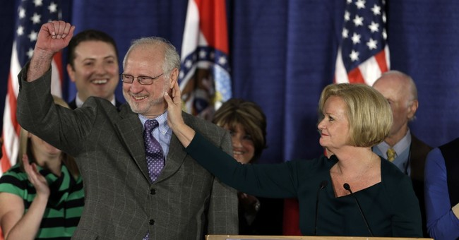 Sen. Claire McCaskill's husband in intensive care