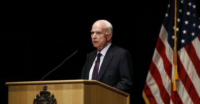 McCain thanks midshipmen for their sacrifice to nation