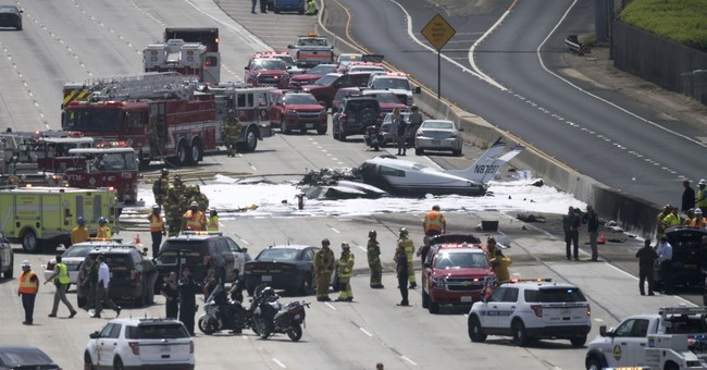 'Miracle on 405': Freeway plane crash survivors tell story