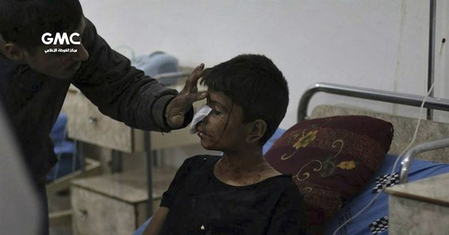 Syria activists say 7 children killed in government shelling