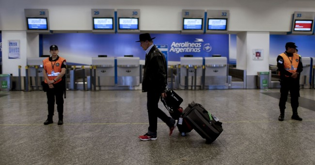 Airline strike in Argentina grounds thousands of passengers