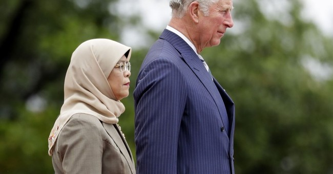 Prince Charles and Camilla kick off Asia tour in Singapore