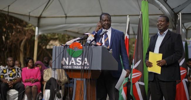 After election, Kenyan opposition leader plans more protests
