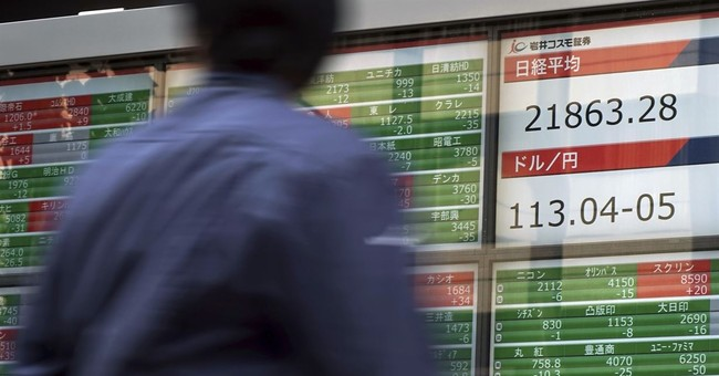 Asian shares rise on optimism on growth, Wall Street gains