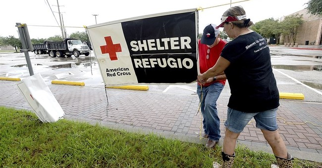 Texas governor voiced 'concern' about Red Cross after Harvey