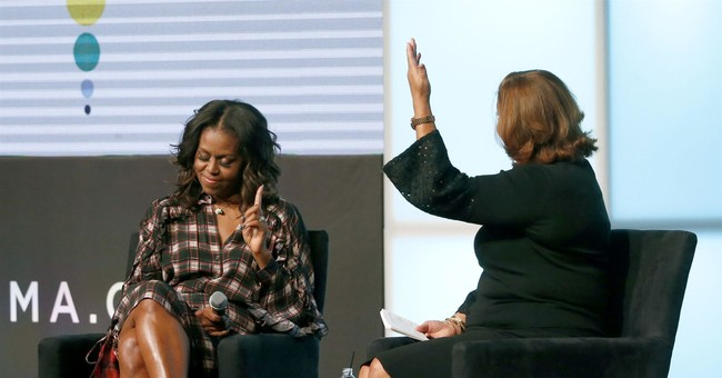 "Don't ""tweet every thought,"" Michelle Obama tells youths"