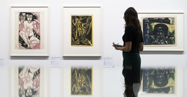 Art from Third Reich dealer's trove on show for 1st time