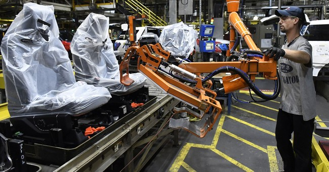 US factories grew more slowly last month, but remain strong